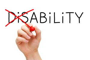 what does disability mean
